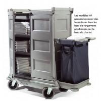 NKT21HF - chariot hôtelier grand volume 2 portes