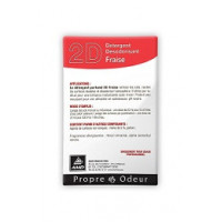 Détergent Désodorisant 2D Fraise - 250 doses 20ml