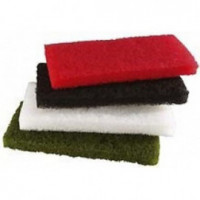 Tampon décapage 25x12x2cm vert - paquet 5