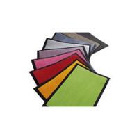 Tapis anti-poussière CHAMONIX logoté sur mesure avec bordure