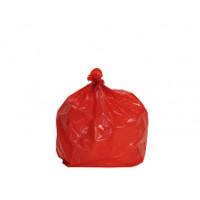 110 L STD PEBD rouge - carton 200
