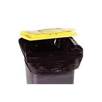 Housse 240 L XTRA PEBD noir - carton 100