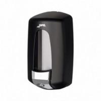 Distributeur savon gel 800 ml - Noir Mat - bouton poussoir